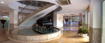 hall vista reception